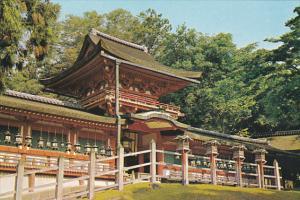 Japan Nara Kasuga Shrine Standing Amid Ancient Cryptomerias