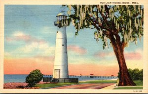 Mississippi Biloxi The Old Lighthouse Curteich