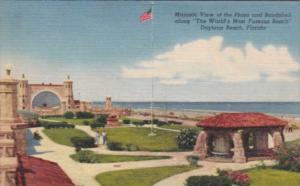 Florida Daytona Oceanfront Plaza and Bandshell Curteich