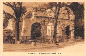 France Nimes Le Temple de Diane Tempel Ruins