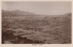 Razmak F South Pakistan Old Postcard