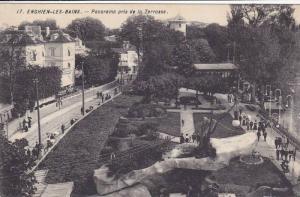 Panorama Pris De La Terrasse, Enghien-Les-Bains (Val d'Oise), France, 1900-1910s