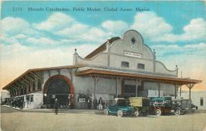 Ciudad Juarez Mexico~Mercado Cuauhtemoc~Public Market~Vintage Autos~1930s