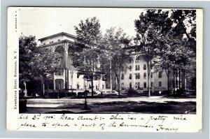Saratoga Springs NY-New York, Kensignton Hotel, Vintage 1905 Postcard