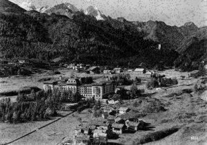 Switzerland Maloja Gneerla view Mountain Postcard