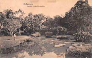 Gezicht Lands Plantentiun Buitenzorg Indonesia, Republik Indonesia Postal Use...
