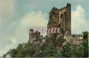 Postcard Modern Konigswinter am Rhein Burg Drachenfels