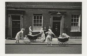Nanny Nannies At 10 Downing Street 1950s Policeman Award Postcard