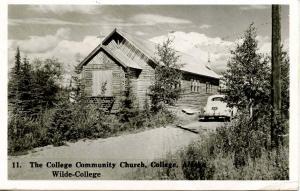 AK - College. The College Community Church, Wilde- College     *RPPC
