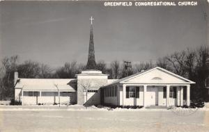 Dearborn Michigan~(Dearborn) Greenfield Congregational Church~1951 RPPC