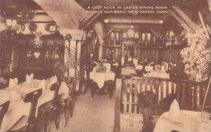 Connecticut New Haven A Cozy Nook In Ladies Dining Room Famous Hof Brau Artvue