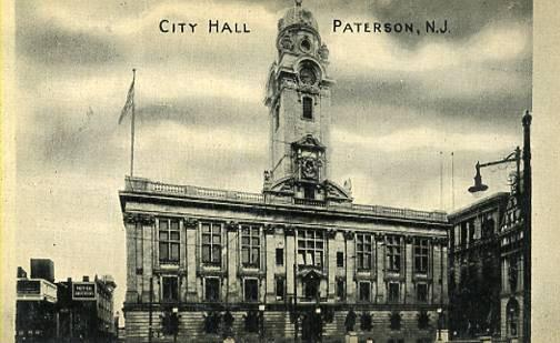 NJ - Paterson. City Hall
