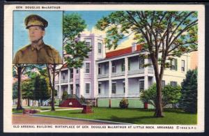Old Arsenal Building,Birthplace General MacArthur,Little Rock AR BIN