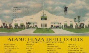 JACKSON, Mississippi, 30-40s; Alamo Plaza Hotel Courts