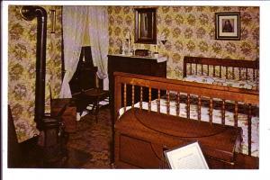 Mary Lincoln's Bedroom, Lincoln's Home, Interior, Springfield, Illinois,