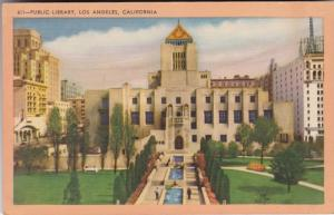 California Los Angeles Public Library