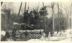 Logging Real Photo Postcard Postcards  Logging