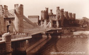 RP; WALES, 1930-1950s; 10310 Conway Castle And Bridge
