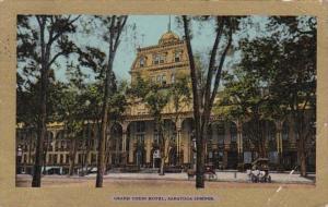 New York Saratoga Springs Grand Union Hotel 1906