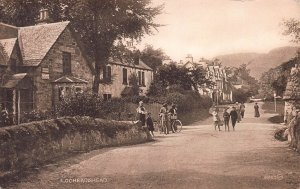 Lochearnhead, Scotland, Early Postcard, Unused, Published by Valentine's