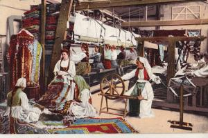 Bosnia Herzegovina types carpets weaving manufactory industry 1915 folk costumes