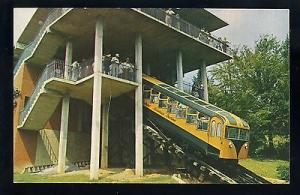 Chattanooga, Tennessee/TN Postcard, Incline Station & Car