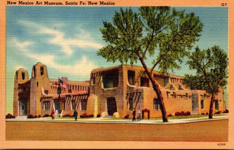 New Mexico Art Museum Santa Fe New Mexico