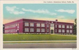 Kentucky Fulton Carr Institute Elementary School