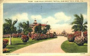 Tropical Park Race Track Miami FL 1937