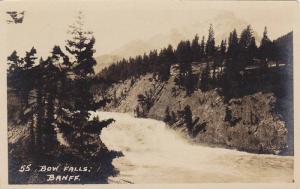 RP, Bow Falls, Banff, Alberta, Canada, 1920-1940s