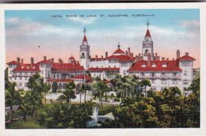 Florida St Augustine Hotel Ponce De Leon