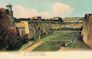 Cuba Habana The Moat Fort Cabana 02.18