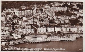 RP, The Marine Lake & Rozel Bandstand, WESTON-SUPER-MARE, England, UK, PU-1952
