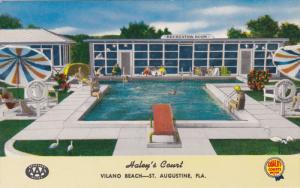 Swimming Pool, Haley´s Court, ST. AUGUSTINE, Florida, 40-60´s