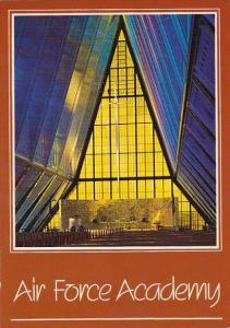 The Protestant Chapel U S Air Force Academy Colorado Springs Colorado 1989