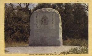 DeSoto Trail Monument Bradenton FL Unused