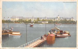 Palm Beach FL~Royal Poniciana Hotel~Pier~Excursion Boats~1910 Detroit Pub Co
