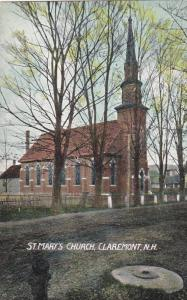 St. Mary's Church, Claremont, New Hampshire 1910-1920s