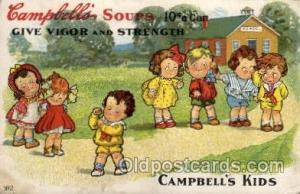 Campbells Soup Advertising Campbells Soup, Artist Wiederseim / Drayton Postca...