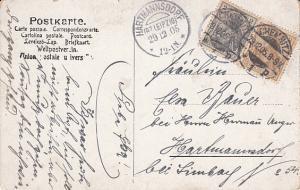 Tief im Bohmerwald 1905  Hartsmanndorf & Chemitz Cancels