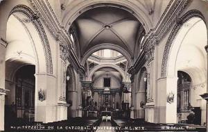RP, Interior De La Catedral, Monterrey, Nuevo Leon, Mexico, 1930-1950s