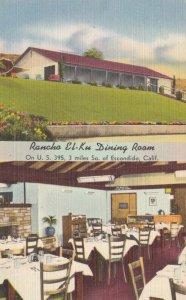 California Escondido Rancho El-Ku Dining Room Interior sk1004