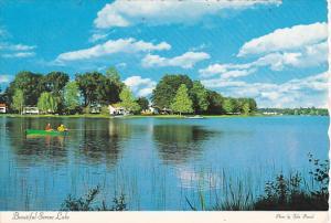 Canada Fishing On Beautiful Serene Lake