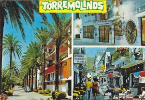Spain Costa del Sol Torremolinos Street Scenes