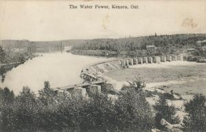 KENORA, Ontario, Canada, 1900-10s ; The Water Power