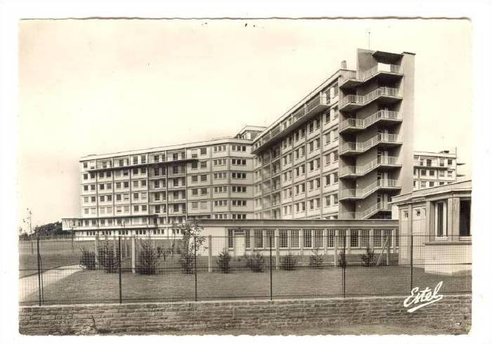 RP; Saint-Nazaire, i Loire-Atlantique department ,France, 40-50s ; L'Hopital