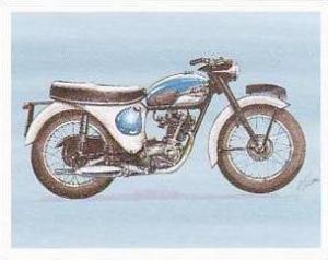 Newmarket Hardware Vintage Trade Card Britains Finest Bikes 1993 No 20 Triump...
