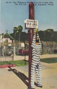 Whipping Post , Old Jail , St Augustine , Florida , 30-40s