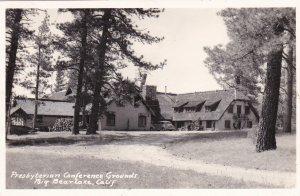 RP, BIG BEAR LAKE , California, 1930-1940s ; Presbyterian Conference Grounds