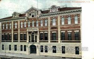Court House Poughkeepsie NY 1909